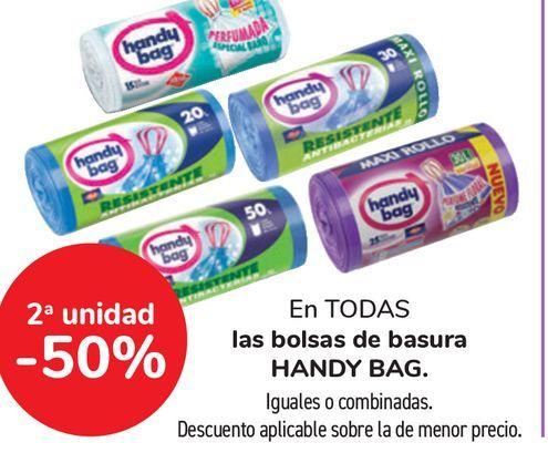Oferta de Bolsas de basura HANDY BAG por