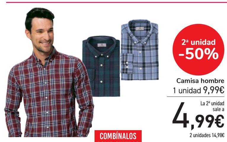 Oferta de Camisa hombre por 9,99€