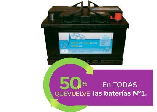 Oferta de En TODAS las baterías Nº1 por