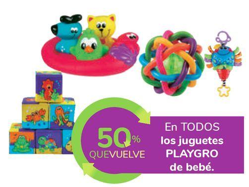 Oferta de En TODOS los juguetes PLAYGRO de bebé por