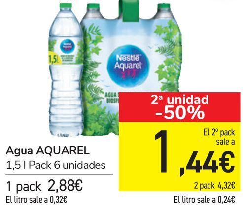 Oferta de Agua AQUAREL  por 2,88€