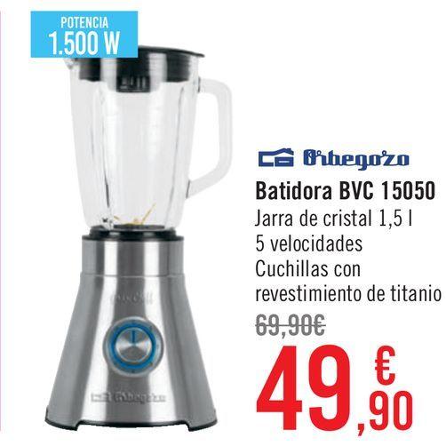 Oferta de Orbegozo Batidos BVC 15050  por 49,9€