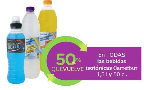 Oferta de En TODAS las bebidas isotónicas Carrefour por