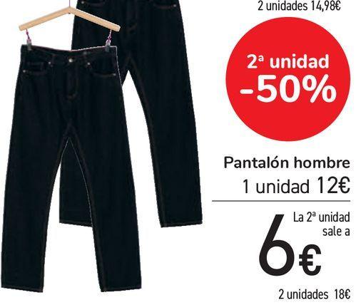 Oferta de Pantalón hombre  por 12€