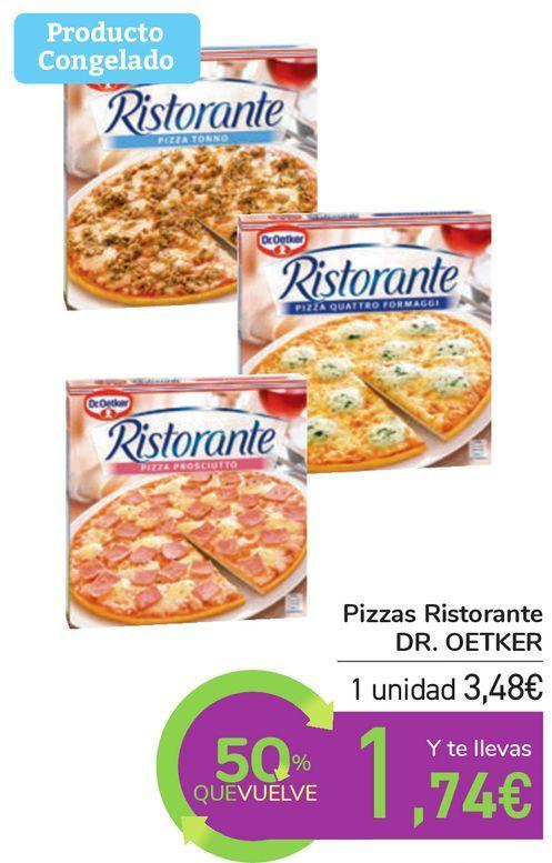 Oferta de Pîzzas Ristorante DR. OETKER por 3,48€