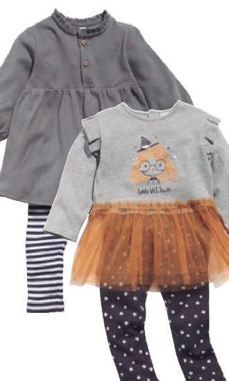 Oferta de Conjunto de dos piezas Bebé Halloween por 11€