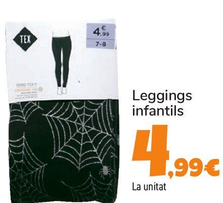 Oferta de Legging infantil por 4,99€