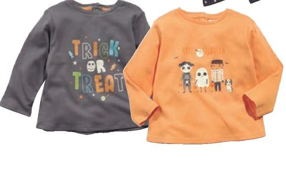 Oferta de Camiseta estampada bebé Halloween por 3,99€