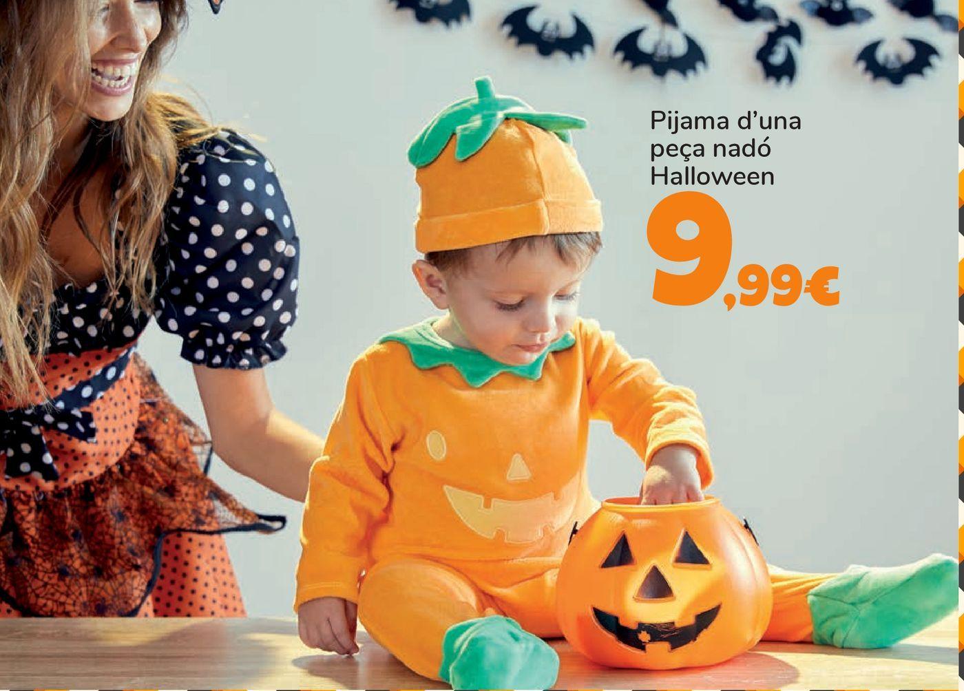 Oferta de Pelele Bebé Halloween por 9,99€