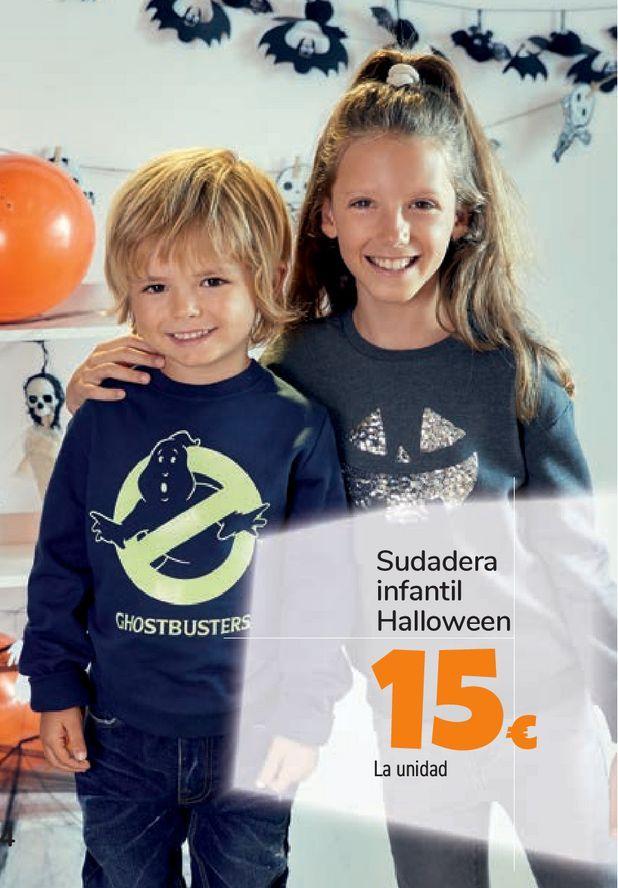 Oferta de Sudadera infantil Halloween por 15€