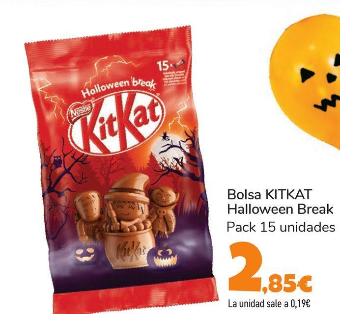 Oferta de Bolsa KITKAT Halloween Break  por 2,85€
