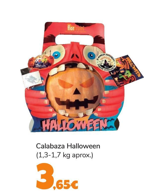 Oferta de Calabaza Halloween por 3,65€