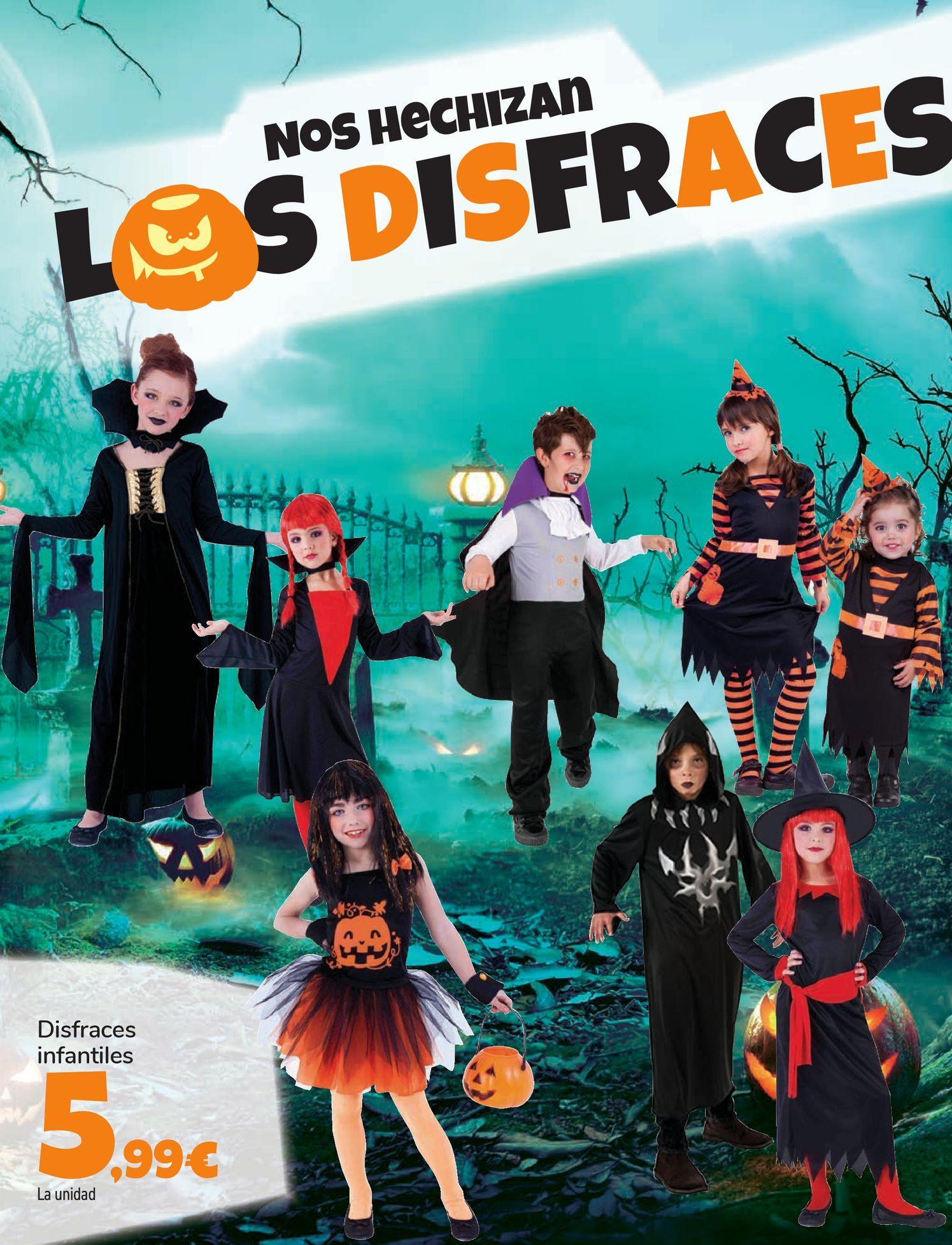 Oferta de Disfraces infantiles por 5,99€