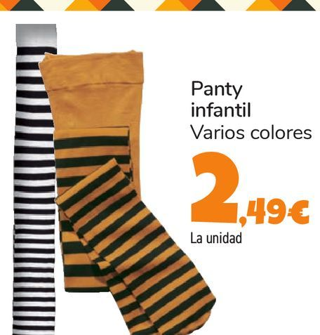 Oferta de Panty infantil por 2,49€