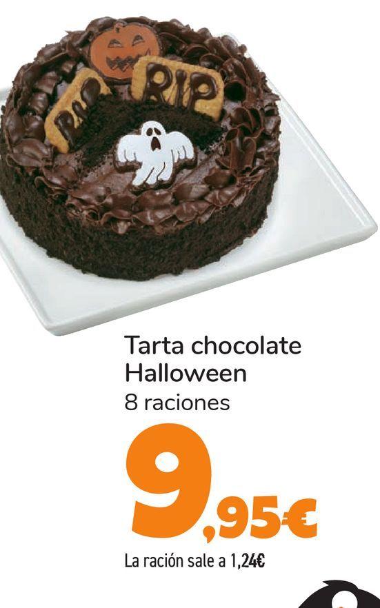Oferta de Tarta chocolate Halloween por 9,95€