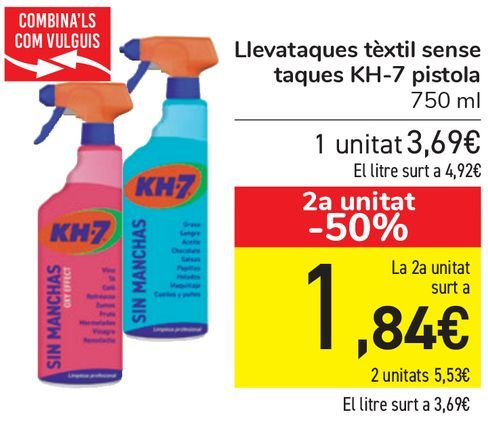 Oferta de Quitamanchas textil sin manchas KH7 pistola  por 3,69€