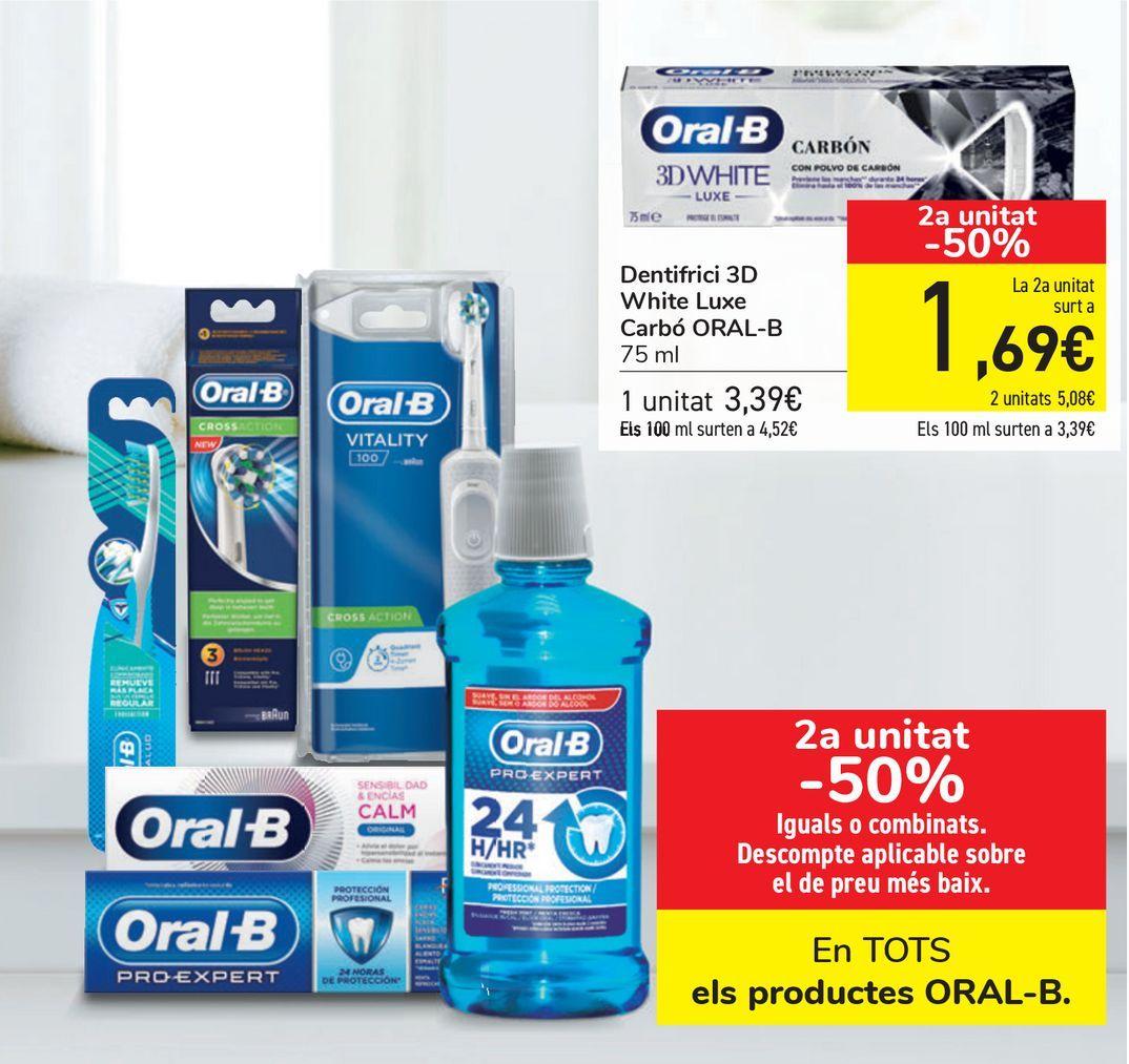 Oferta de En TODOS los productos ORAL-B  por