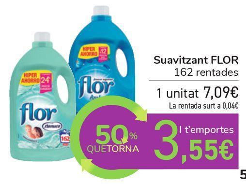 Oferta de Suavizante FLOR  por 7,09€