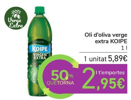 Oferta de Aceite de oliva Virgen Extra KOIPE por 5,89€
