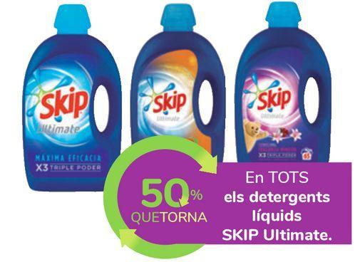 Oferta de En TODOS los detergentes líquidos SKIP Ultimate por