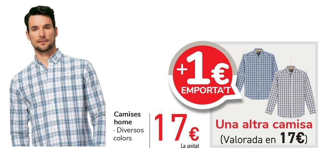 Oferta de Camisas hombre por 17€