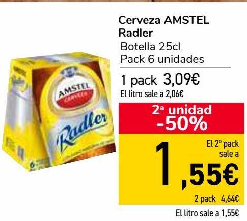 Oferta de Cerveza AMSTEL Radler  por 3,09€