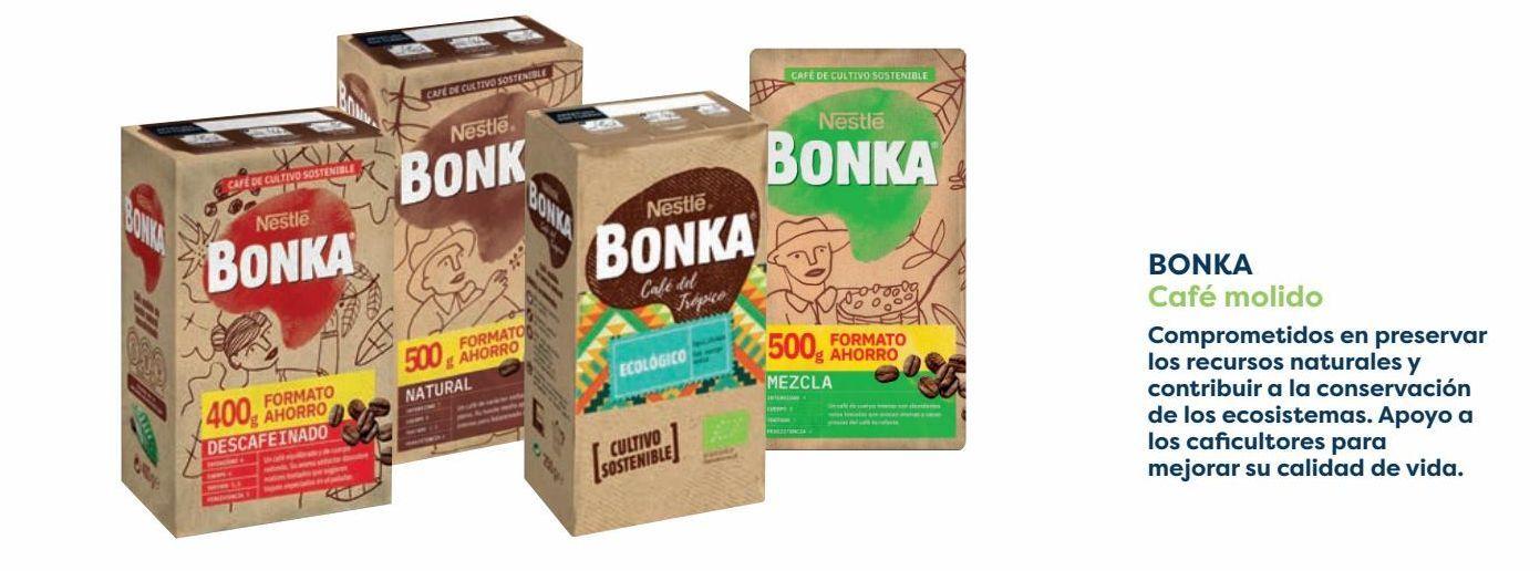 Oferta de BONKA Café molido por