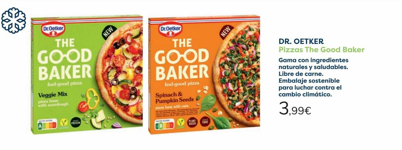 Oferta de DR OETKER Pizzas The Good Baker  por 3,99€