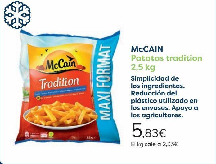 Oferta de McCain Patatas Tradition  por 5,83€