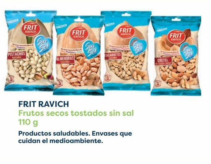 Oferta de FRIT RAVICH Frutos secos tostados sin sal por