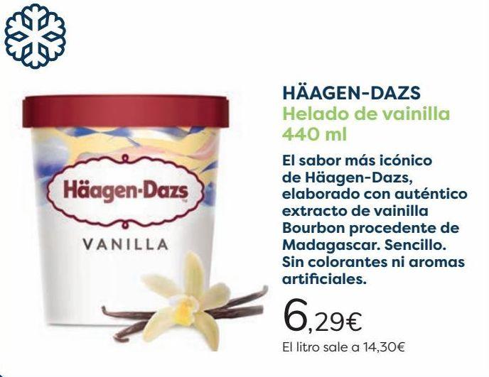 Oferta de HÄAGEN-DAZS Helado de vainilla por 6,29€