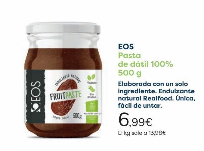 Oferta de EOS Pasta de dátil 100%  por 6,99€