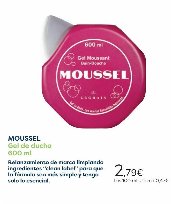 Oferta de MOUSSEL Gel de ducha  por 2,79€