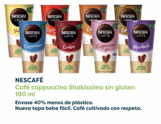 Oferta de NESCAFÉ Café cappuccino Shakissimo sin gluten  por