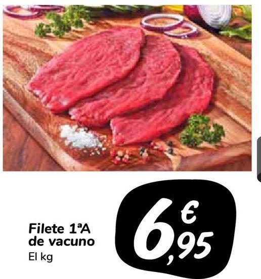 Oferta de Filete 1ªA de vacuno por 6,95€