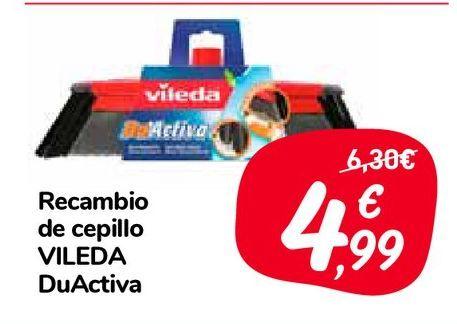 Oferta de Recambio de cepillo VILEDA DuActiva por 4,99€