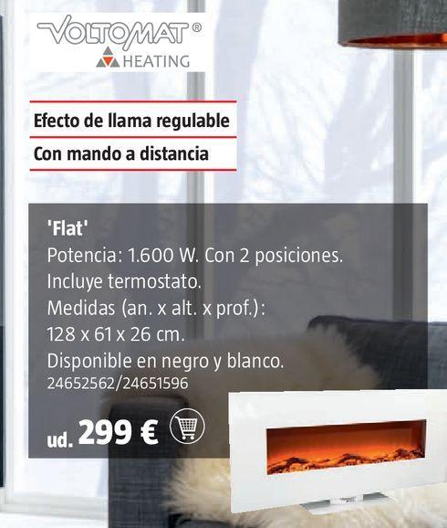 Oferta de Chimenea eléctrica por 299€