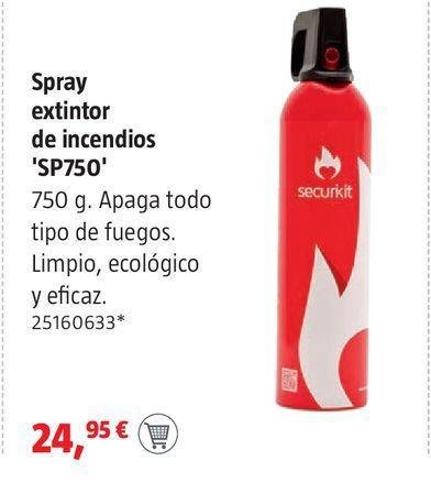 Oferta de Spray extintor de incendios por 24,95€