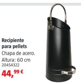 Oferta de Recipiente para pellets por 44,99€
