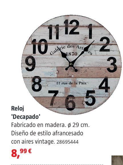 Oferta de Reloje decapado por 8,99€