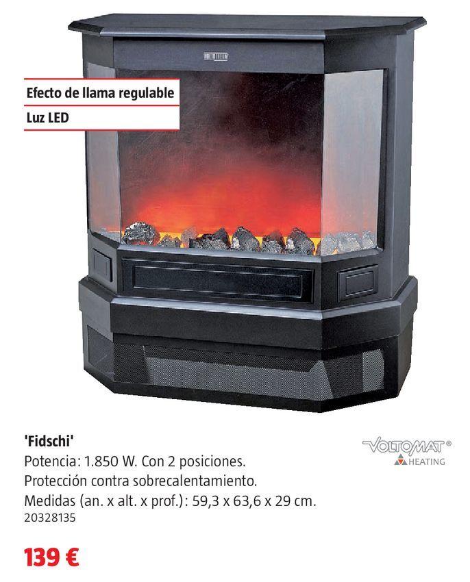 Oferta de Chimenea eléctrica por 139€