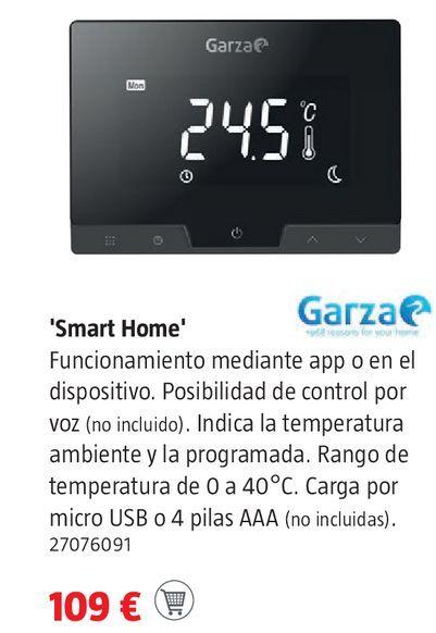 Oferta de Cronotermostato digital Garza por 109€