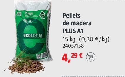 Oferta de Pellets demadera Plus A1 por 4,29€