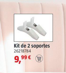 Oferta de Kit de 2 soportes por 9,99€