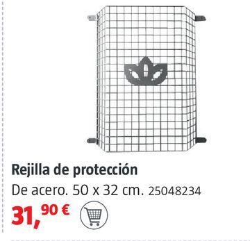 Oferta de Rejilla de protección por 31,9€