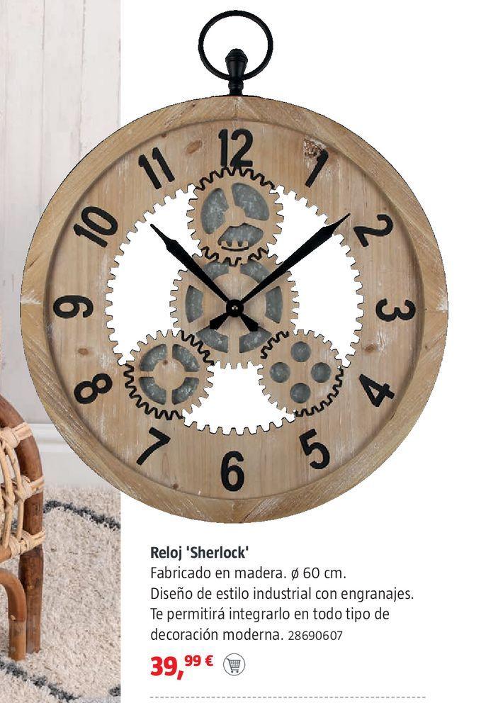 Oferta de Reloje Sherlock por 39,99€