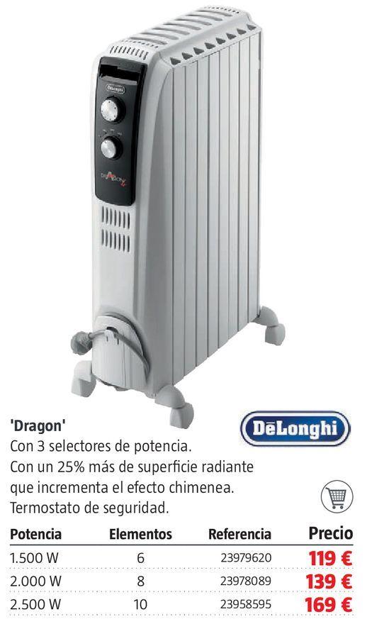 Oferta de Radiador de aceite Dragon por 119€