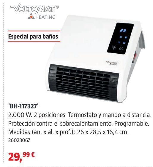 Oferta de Calefactor de baño por 29,99€