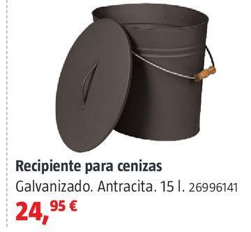 Oferta de Recipiente para cenizas por 24,95€