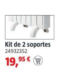Oferta de Kit de 2 soportes por 19,95€